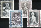 Poland Mi# 3863-3866 Used 2000: Portraits Of Historic Polish Rulers - 1944-.... Republic