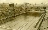 Piscine Des Tourelles Paris Championnat De Natation Ancienne Photo Rol 1931