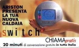 *CHIAMAGRATIS - N.167 - ARISTON* - Scheda Usata (DT) - Italia