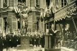 France Paris Inauguration Monument Aux Morts 9 Arrondissement Lucien Sauphar Ancienne Photo Rol 1932 - War, Military