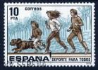 Spanien 1979, Spanje, Espana, Espagne, Spain, Deportes Para Todos, SG 2566, Edifil 2518, Y&T 2164, Used - 1931-Tegenwoordig: 2de Rep. - ...Juan Carlos I