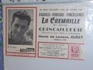 BLOTTER BUVARD Publicitaire   FAIENCES  PORCELAINES LA Cremaille route de Lorient Auray N Barone Miroir Sprint