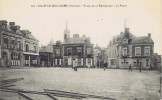 72 - Sillé-le-Guillaume (Sarthe) - Place De La République - La Poste - Sille Le Guillaume