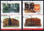 Poland Mi# 3892-3895 Used 2001: Cultural Heritage Sites Abroad - 1944-.... Republic