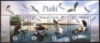 Poland Mi# 4079-4082 Used 2003: Birds - Used Stamps
