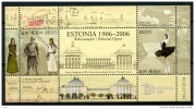 Centenary Of Estonia Theater Estonia Viking 2006 MNH Sheet - Geschiedenis