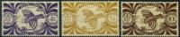 France, Nouvelle Calédonie : N° 240 à 242 Xx Année 1943 - Neufs