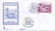 ITALIA - FDC  CAPITOLIUM  2002 - ARNOLFO DI CAMBIO - ARTE - ANNULLO SPECIALE FIRENZE - 6. 1946-.. Repubblica