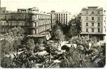7-afri9. Postal Argelia. Oran. Le Boule Vard Clemenceau Et Le Cercle Militaire - Argelia