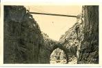 7-afri10. Postal Argelia. Constantine. Passarelle De Sidi M'Cid - Argelia