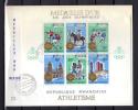 1968   J.Olympiques . Mexico Et Sapporo, FDC Médailles D'Or     Cote 85 €, - Rwanda