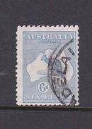 Australia 1915-20 Third Watermark Kangaroo SG 38b, 6d Blue Used - 1913-48 Kangaroos