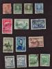 B33 Argentina 1921-1951 ( 14 Stampa ) (  Sc#290,346,346,348,459,469,469,479,475,477,478,506,512,512,) CH - Argentine