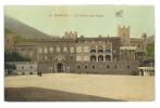 Cp, Monaco, Le Château Du Prince - Palais Princier