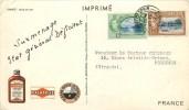 "TRINIDAD & TOBAGO - COURRIER VOYAGE -1952 - CARTE POSTALE - "" BORD De MER à TRINITE"" - Voir 2 Scans. - Trinité & Tobago (1962-...)"