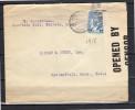 Censor 1918 S. Balderrama Torréon Coan To Barney & Berry Springfield Massachusetts USA (za52) - Mexique