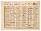 Petit Calendrier LA MARNE 1964 (PPP1313) - Calendriers