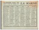 Petit Calendrier 1966 LA MARNE (PPP1318) - Petit Format : 1961-70