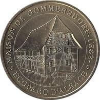 2007 - MAISON DE GOMMERSDORF - Ecoparc D' Alsace / MONNAIE DE PARIS - Monnaie De Paris