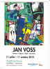 24550 Saint Malo 35 France  Jan Voss Peinture Reliefs Ceramiques -chapelle Saint Sauveur, Exposition -oct 2015