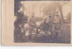24553 Carte Photo Soldat Militaire Riviere - Aucune Indication - Personnages
