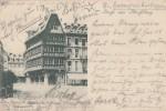 AK Gruss Aus Strassburg Das Alte Haus Gelaufen 8.2.97 Bpst. - Elsass