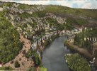 CPSM SAINT MARTIN LABOUVAL (Lot) - En Avion Au-dessus De.......vallée Du Lot - France