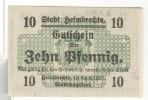 Notgeld 10 Pfennig Helmbrechts - Allemagne / Germany 1917 - [11] Emissions Locales