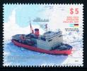Antártida Argentina 2002-2012 Operación Cruz Del Sur - Asistencia Naval En La Antártida** - Navi Polari E Rompighiaccio