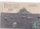 24571 Mont Saint Michel Moutons Paturage 4138 GF Prés-salés  Botrel Chanson Couplet Lize - Le Mont Saint Michel