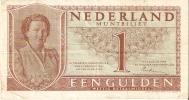 BILLETE DE HOLANDA DE 1 GULDEN DEL AÑO 1949  (BANKNOTE) JULIANA - [2] 1815-… : Kingdom Of The Netherlands