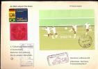 FIFA WORLD CUP 1974 - FUTBALL WELTMEISTERSCHAFT  BUSTA VIAGGIATA VIA AERA BRASILE RIO DE JANEIRO MUNCHEN - Coppa Del Mondo