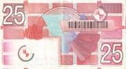 BILLETE DE HOLANDA DE 25 GULDEN DEL AÑO 1989  (BANKNOTE) - [2] 1815-… : Kingdom Of The Netherlands