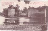 24578 Montjean Mayenne Chateau Bati Avant 814 Charlemagne Sans éd -barque - Non Classés