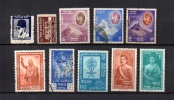 Nepal    1959-62  .-   Y&T Nº   107 - 109 - 114/116 - 118 - 120 - 124- 130/131 - Nepal