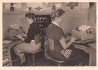 TYPEWRITER - MACHINE A ECRIRE - DACTYLOGRAPHIE - SCHREIBMASCHINE - TYPEMACHINE - WERBEKARTE INTERTYPE GMBH BERLIN - Mestieri