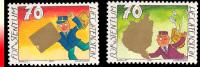 Liechtenstein 1198/99**Timbres De Messages à Gratter  MNH