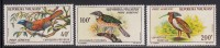 Malagasy Republic MNH Scott #C72-#C74 Set Of 3 Helmet Bird, Pitta-like Ground Roller, Crested Wood Ibis - Madagascar (1960-...)