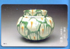 Japan Japon Telefonkarte T�l�carte Phonecard  -  D�coration  Art Vase Vaas