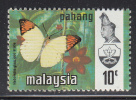 Malaysia - Pahang MH Scott #94 10c Great Orange Tip Butterfly - Malaysia (1964-...)