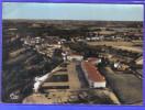 Carte Postale 65. Castelnau-Rivière-Basse  Vue D´avion   Trés Beau Plan
