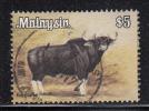 Malaysia Used Scott #181a $5 Gaur - Unwmk - Malaysia (1964-...)