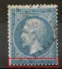IMPRESSION TRES DEFECTUEUSE En SUD, FLEURON ABSENT En Sud Est Sur Napoléon Dentelé. - 1862 Napoleon III
