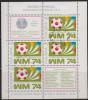 Sp 782) Polen 1974 Mi# 2328 Bl. 60 FD ET-Stempel: 3. Platz Bei Der Fußball-Weltmeisterschaft, Deutschland - Coppa Del Mondo