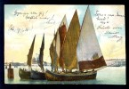 Ship / Year 1904 / Old Postcard Circulated - Peintures & Tableaux