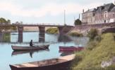 Carte 1955 LE LION D´ANGERS /  Le Pont Sur L'oudon - Altri Comuni
