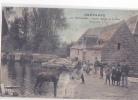 24594 Guingamp  Ancien Moulin De La Ville, Abreuvoir -512 Mancel Binic -colorisée Cheval - Guingamp