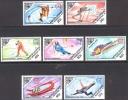 Mongolia 1984 1985 Winter Olympic Games Sarajevo Sports Bobsled Skiing Ice Figure Skating Stamps MNH - Winter 1984: Sarajevo