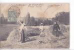 24597 Guingamp La Fenaison -coll Hamon G - Paysan Agriculture Foin Meule Femme - Guingamp