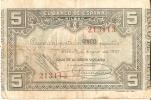 BILLETE DE ESPAÑA 5 PTAS DEL BANCO DE BILBAO 1937 - FIRMA CAJA DE AHORROS VIZCAINA  (BANKNOTE) - [ 3] 1936-1975 : Régimen De Franco